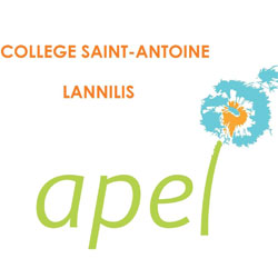 logo APEL Collège St Antoine-La Salle Lannilis
