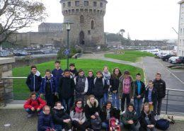 AECS « Histoire et Patrimoine » : les 5e en visite à Brest