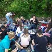 A la recherche des fossiles pour les 6e dans la Presqu'île de Crozon 1