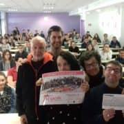 Remise chèque pour la Communauté de l'Arche de Brest