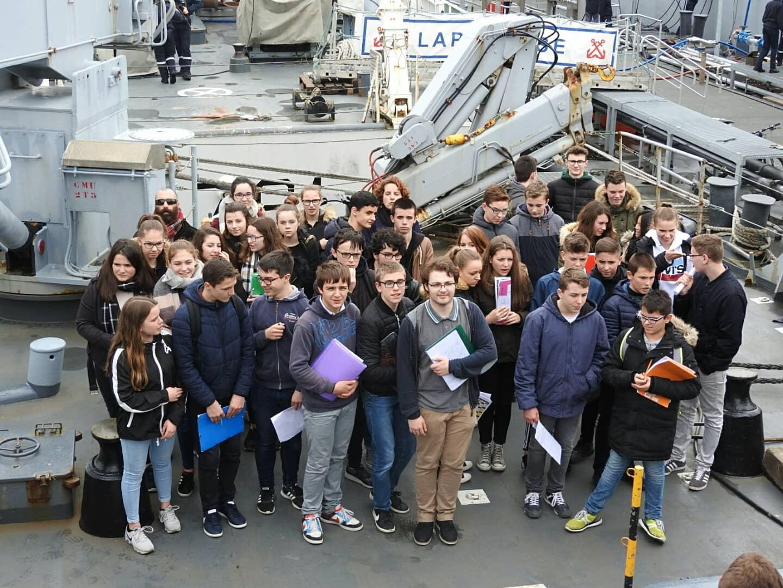 Les 3e à Brest : le devoir de mémoire