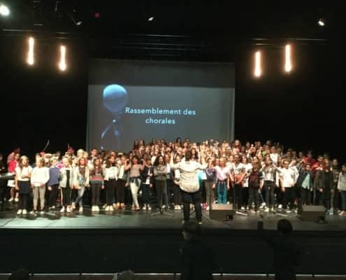 Rassemblement des chorales des collèges de l'Enseignement Catholique