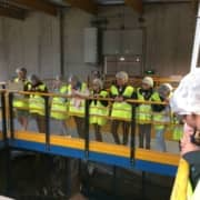 Former des éco-citoyens au collège : les 6e en visite à Triglaz à Plouedern