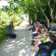 Sortie de fin d'année culturelle pour les cinquièmes à l'abbaye de Daoulas