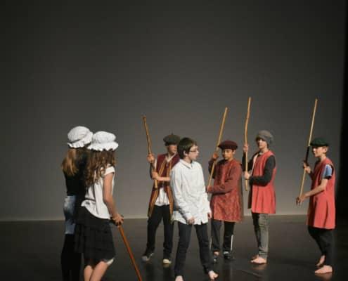 Théâtre : les élèves bilingues de St Antoine-Lasalle sur les planches
