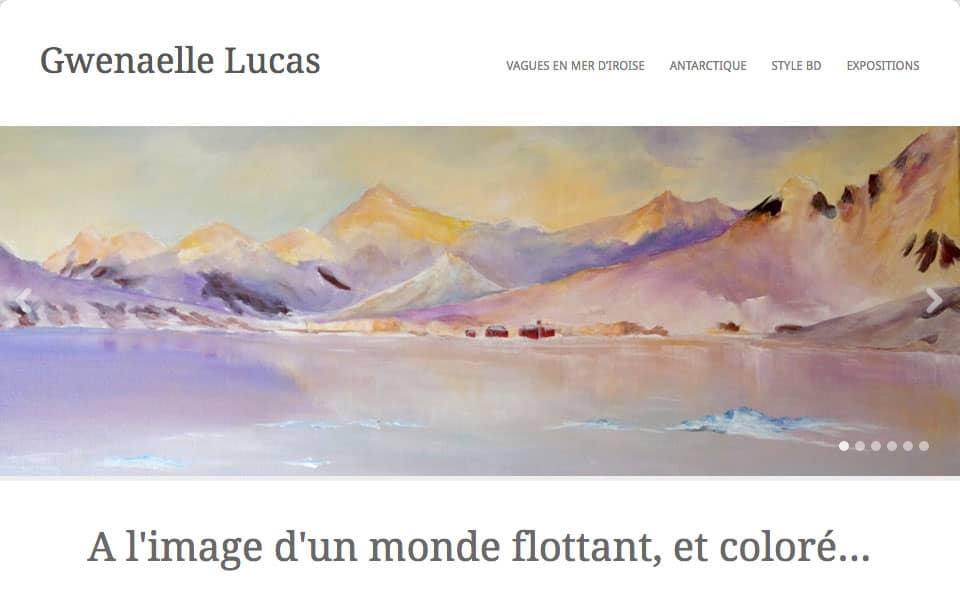 Gwenaelle Lucas, artiste peintre