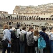 Aecs Italie 3e Viaggio In Italia 04 Colisee Eleves