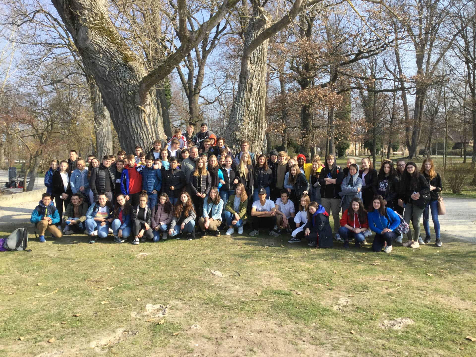 Aecs Munich Avril 2019 - Photo du groupe en Allemagne
