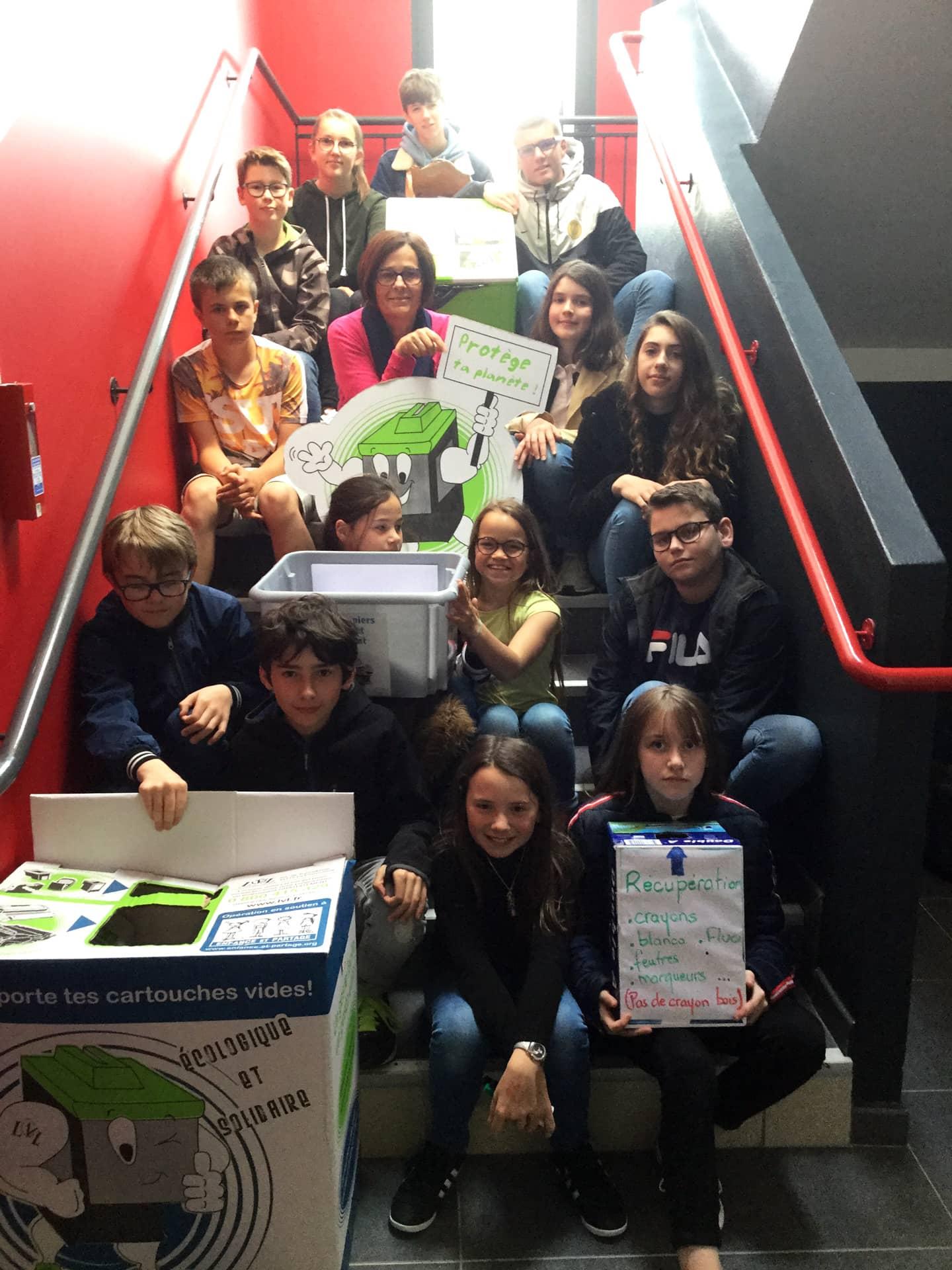 Atelier Environnement au collège : des élèves s'engagent pour préserver la planète