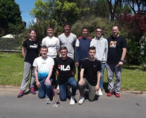 Anthony Weber Et Le Groupe De Futsal
