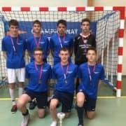 Futsal Minimes Podium Championnat National 03