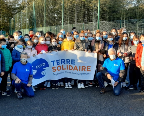 Marche Solidaire College Saint Antoine La Salle 1