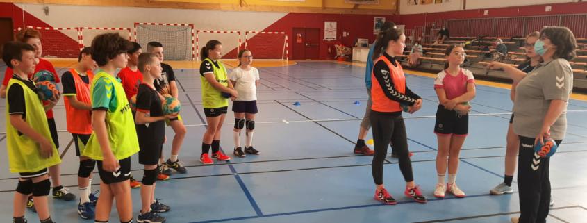Inscription Nouvelle Option Handball 01