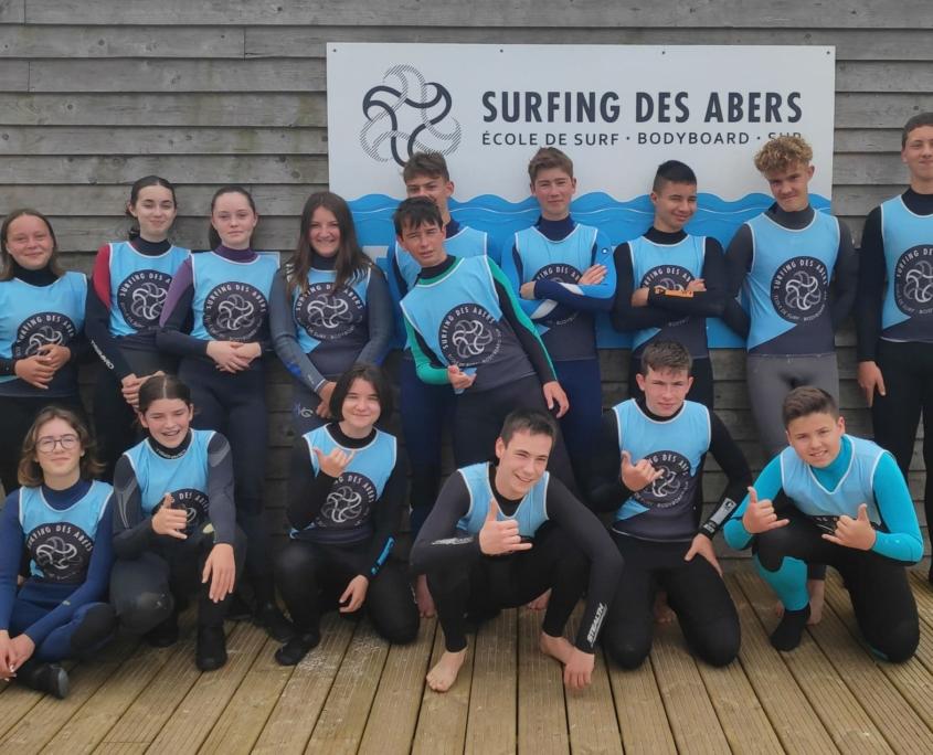 Surf Et Paddle Au College Saint Antoine 01